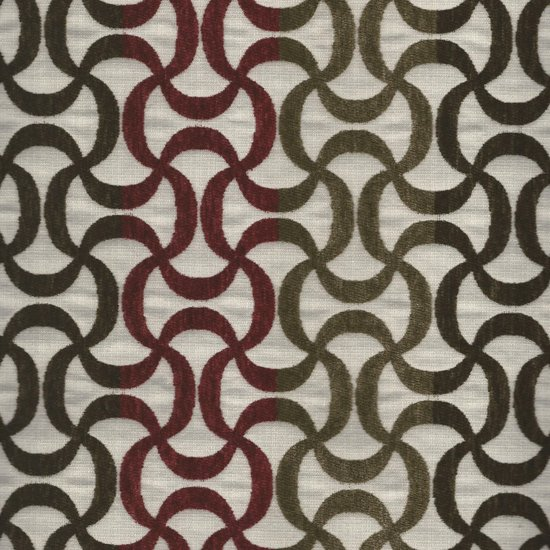 Picture of Ripcurl Crimson upholstery fabric.