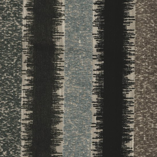 Picture of Ripley Charcoal upholstery fabric.