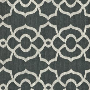Picture of Sansa Charcoal upholstery fabric.