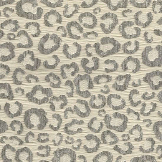 Picture of Sarafina Silver upholstery fabric.