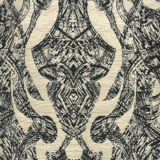 Picture of Vanguard Black upholstery fabric.