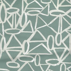 Picture of Playground Sage upholstery fabric.